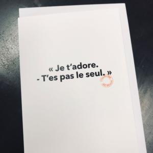 Carte postale Loïc Prigent
